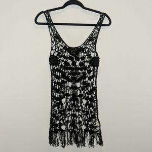Intimately Free People black crochet cover up